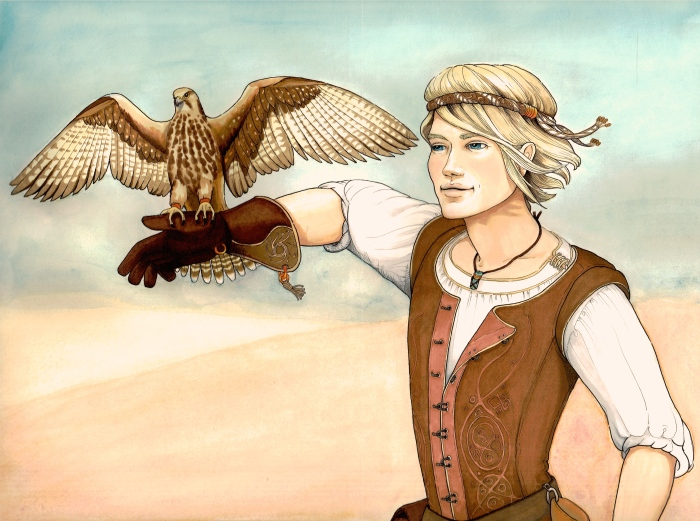 A Boy and His Falcon